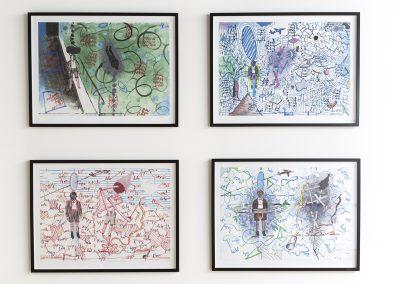 Toon Teeken, 2018, Untitled, 50x70 (4x)