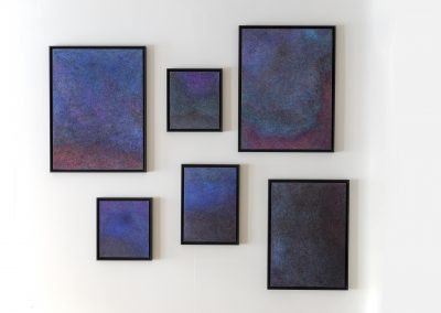 Henny Overbeek, 2019, The sky takes notes when we speak, 30x35 50x35 60x80 and 50x70