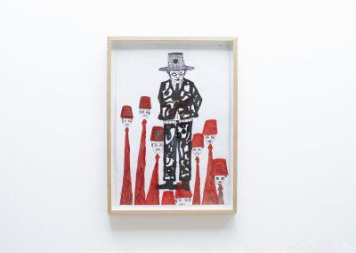Hamid El Kanbouhi, 2016, Untitled, 41x58