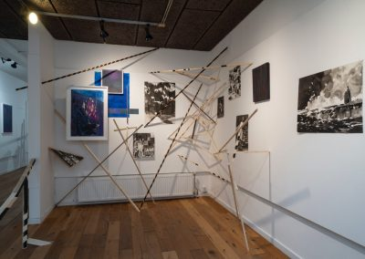 Installatie Henny Overbeek en Nik Christensen